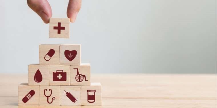 illustration pyramide santé