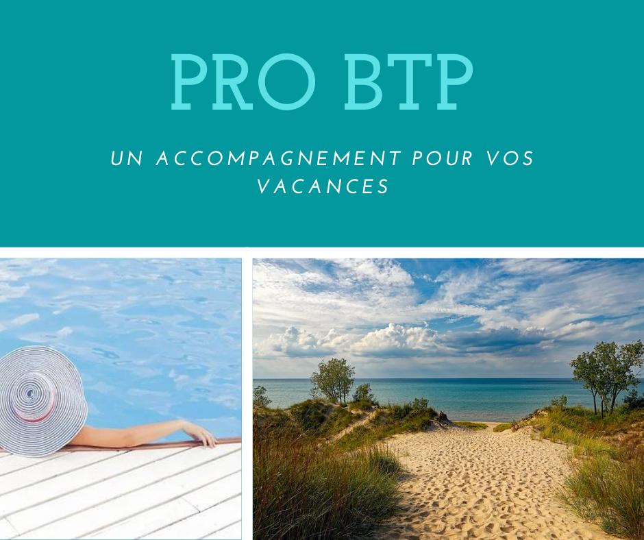 Vacances PRO BTP